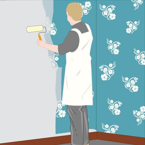 papierpeint9: peinture pour papier peint