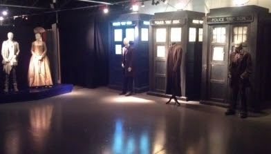 'The Day of the Doctor' Exhibit