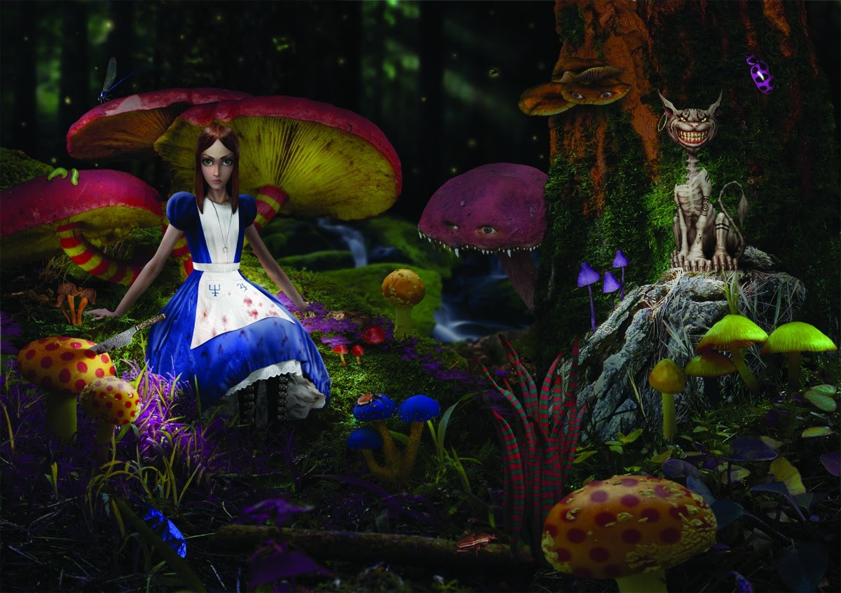American McGee says the fate of the Alice franchise is completely in EA's hands screenshot