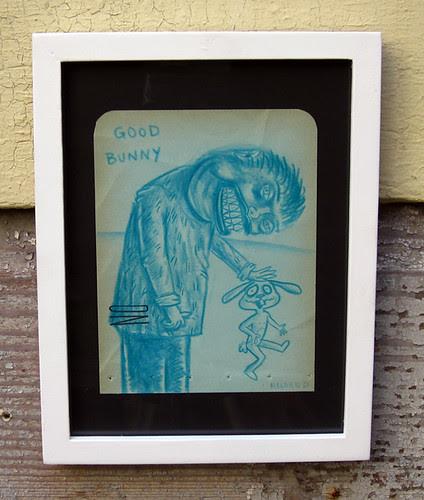 "6x8"" framed drawing"