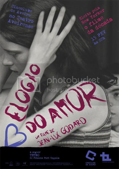 cartaz Elogio do Amor