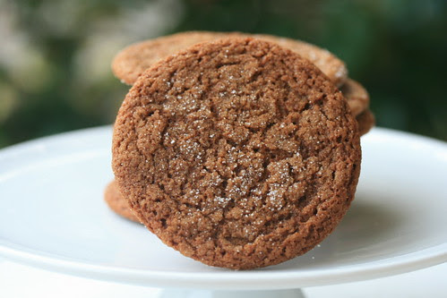 Sugar-Topped Molasses Spiced Cookies - TWD