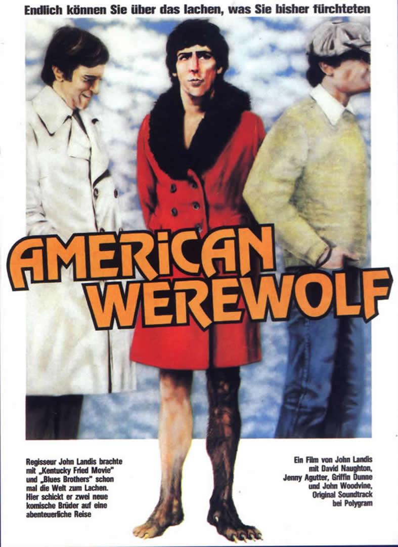 An American Werewolf In London Ger German Movie Posters