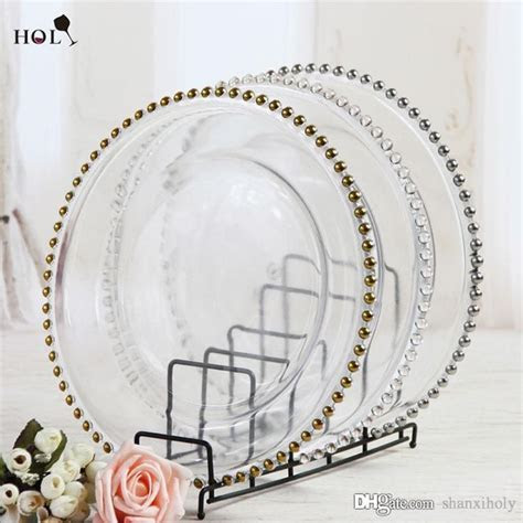 Wholesale 13inch round cheap wedding cear silver gold