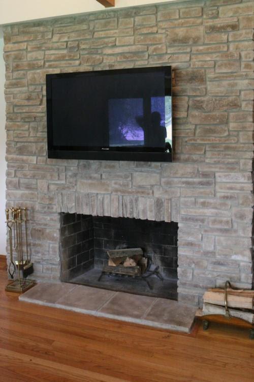 Mountain Stack Stone Fireplaces