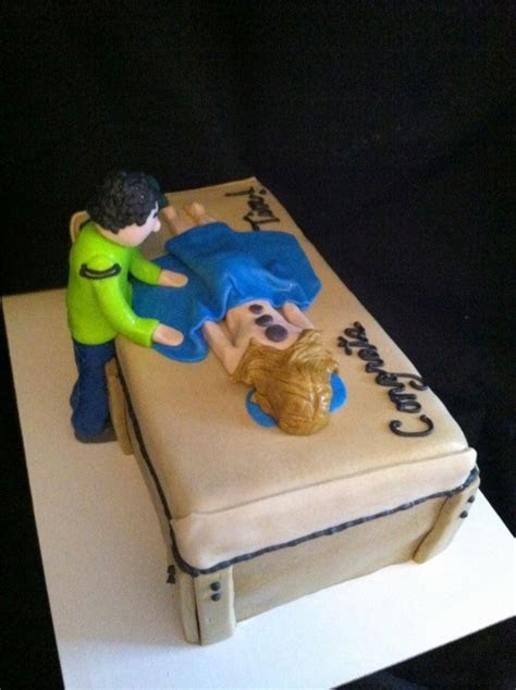 Massage Therapist Cake I so want one for when I get around