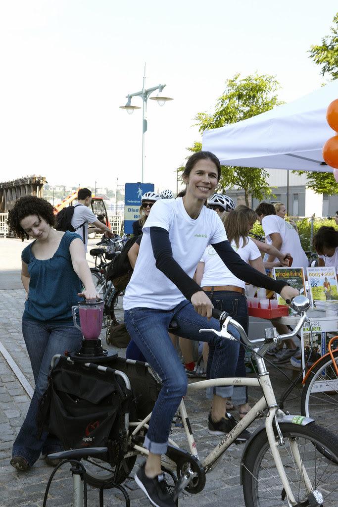 Alex Postman on bike