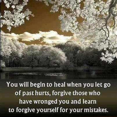 Learn To Forgive Yourself For Your Mistakes Quote Picture