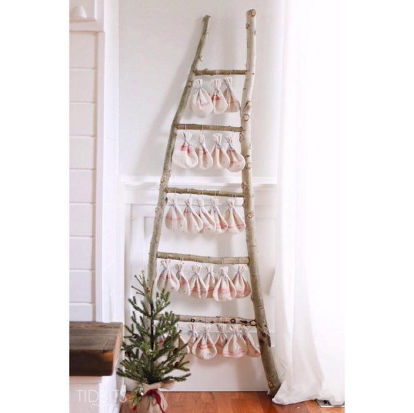 CamiTidBits on Instagram | Christmas Countdown Ladder