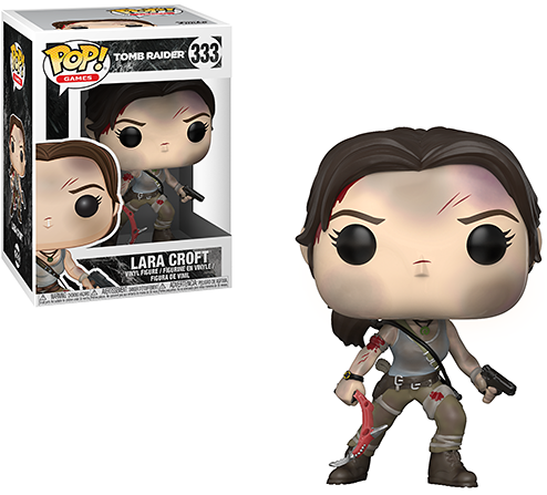 Reboot Lara Croft POP! vinyl figurine from Funko