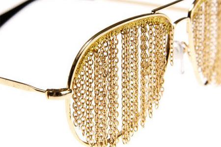 Gold Chain Glasses