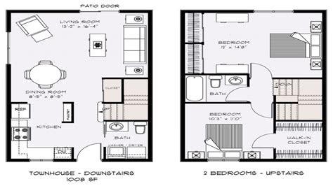 small townhouse floor plans townhouse floor plans