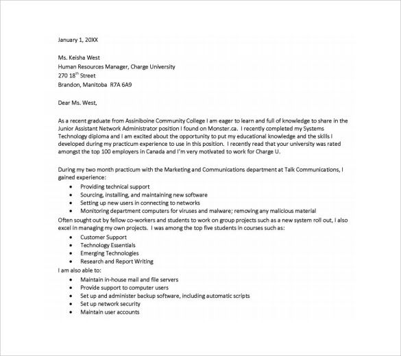10 Executive Assistant Cover Letter Templates To Download
