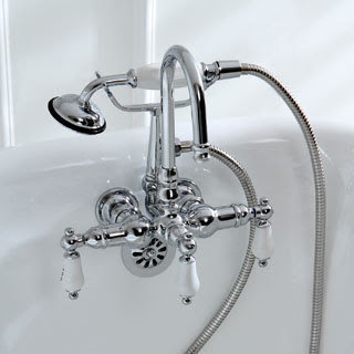 Deck Mount Clawfoot Tub Faucet Faucets For Clawfoot Bathtubs