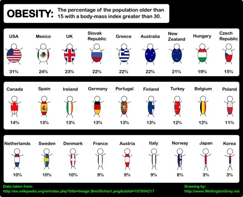 average body fat percentage in america