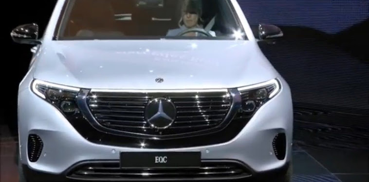 Mercedes Benz Electric Suv 2019