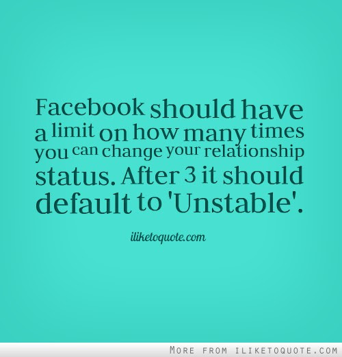 Facebook Should Have A Limit On How Many Times You Can Change Your