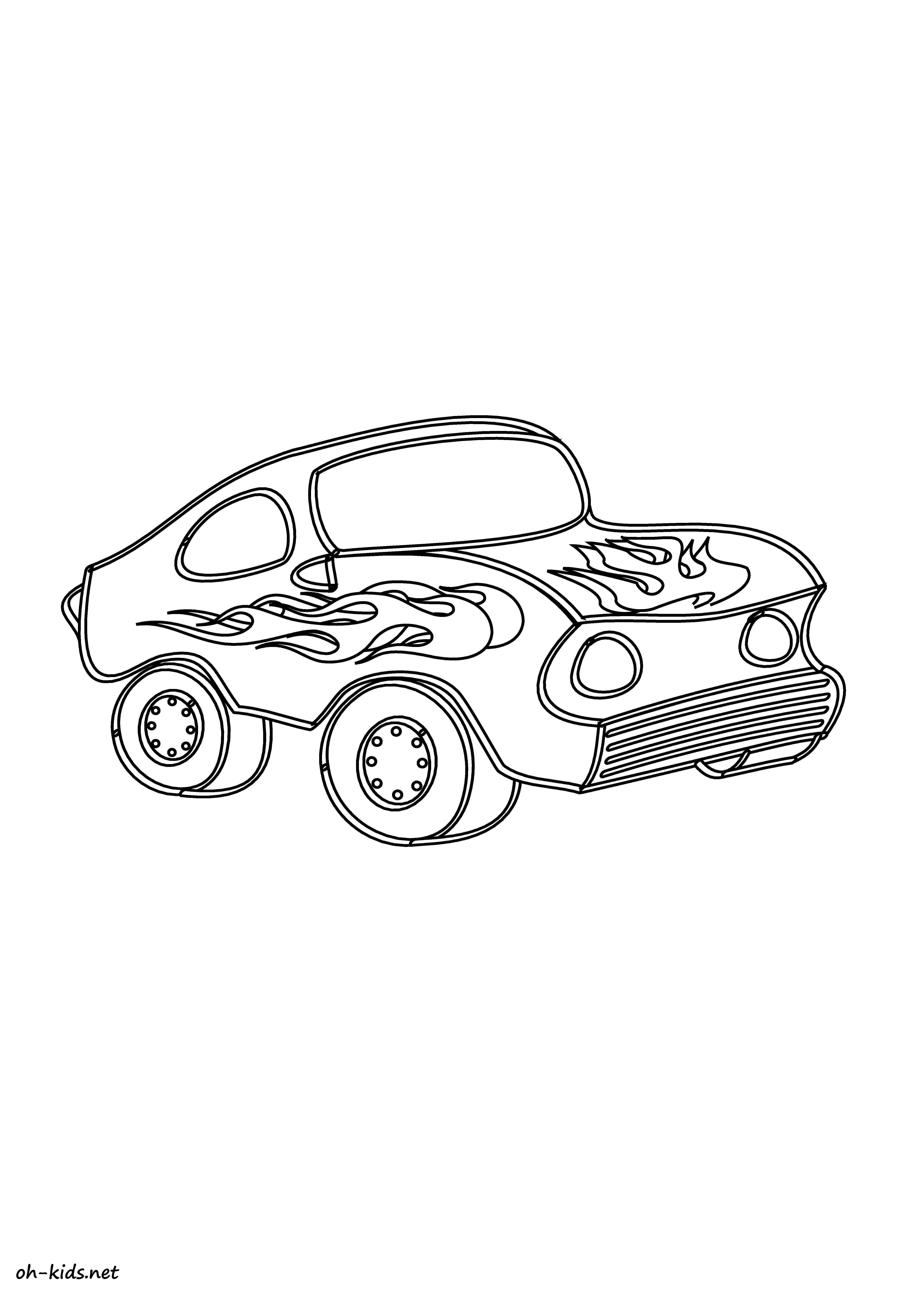 Élégant Coloriage Voiture De Course Cars 2 | Imprimer et ...