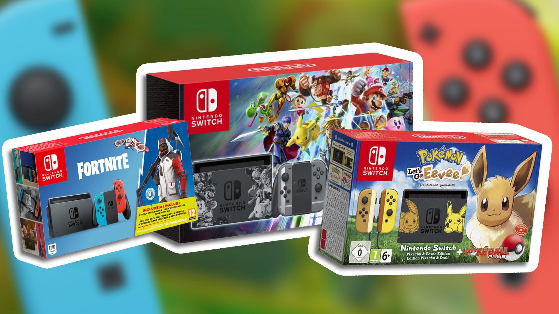 Best Nintendo Switch Hardware Bundle Deals For Christmas ...