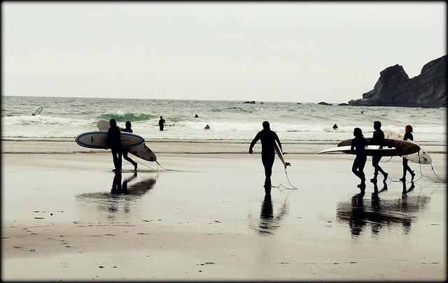 Surfers - Rocks - Smuggler's Cove