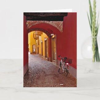 Italian Street card