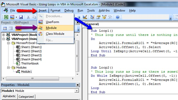 Darkhorse Nepal: Using Loops In VBA In Microsoft Excel.