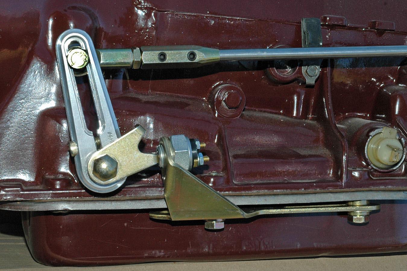 Installing a Hybrid Shifter Story & Photos By Jim Clark ...