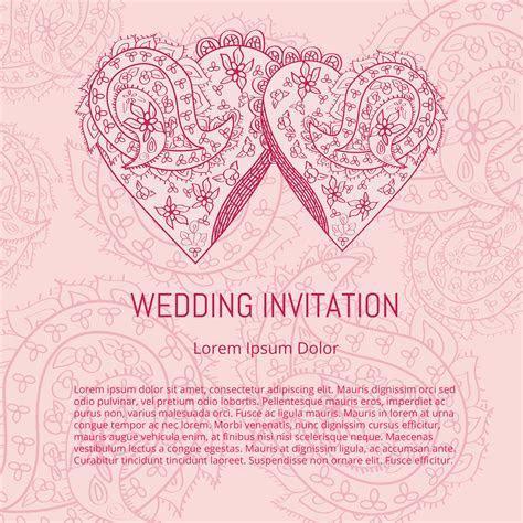 Indian Wedding Card Vector   Download Free Vector Art
