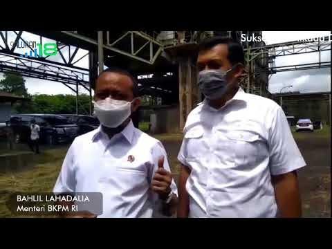 Menteri BKPM RI Kunjungi PT MJIS
