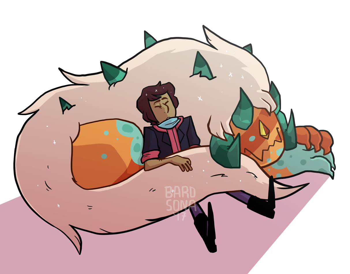 don't read into this too much i just wanted to draw my cute stuffed animals… they inspired me and they're friends