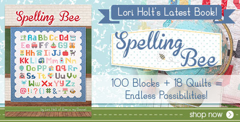 Spelling Bee Book by Lori Holt