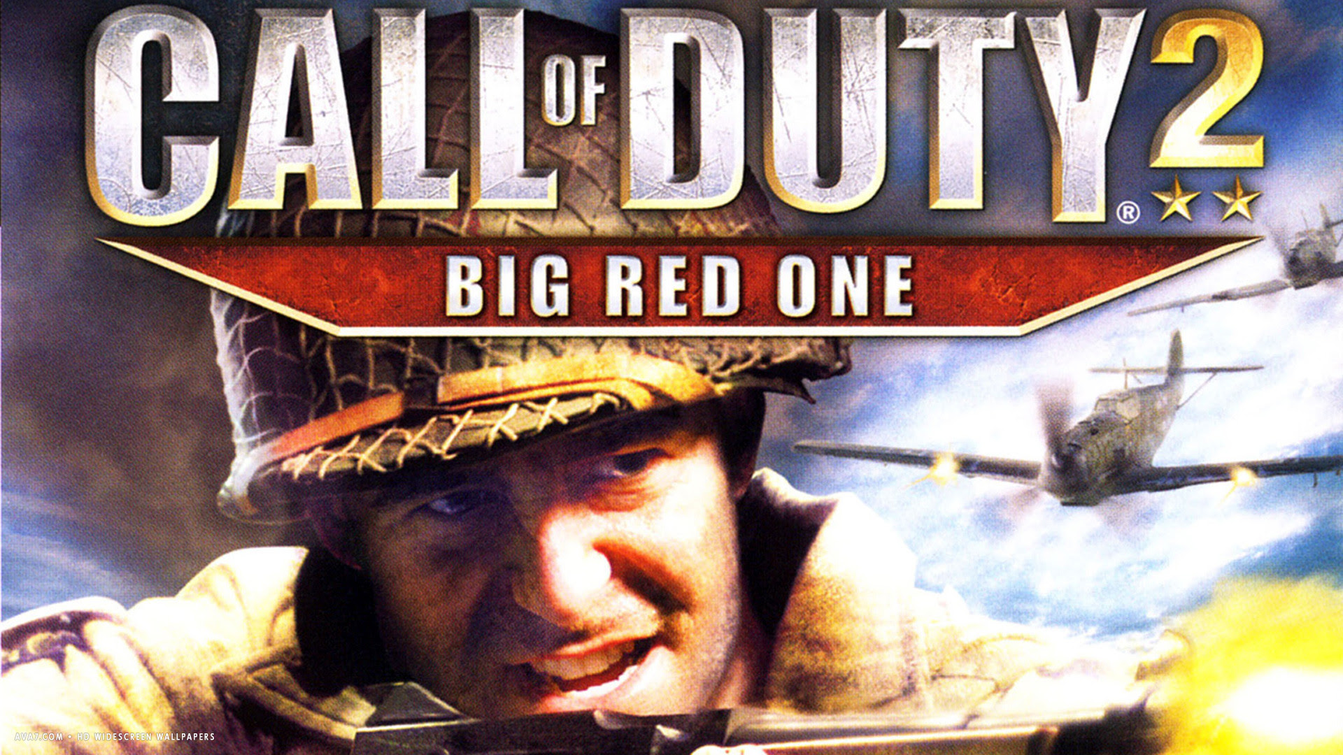 Call Of Duty 2 Big Red One Game Hd Widescreen Wallpaper Games