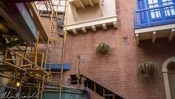 Disneyland Resort, Disneyland, New Orleans Square, Royal Courtyard, Refurbishment, Refurbish, Refurb