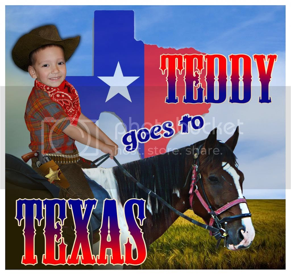 Teddy goes to Texas