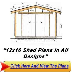 12 x 16 foot shed plans haddi for 18 x 24 shed plans