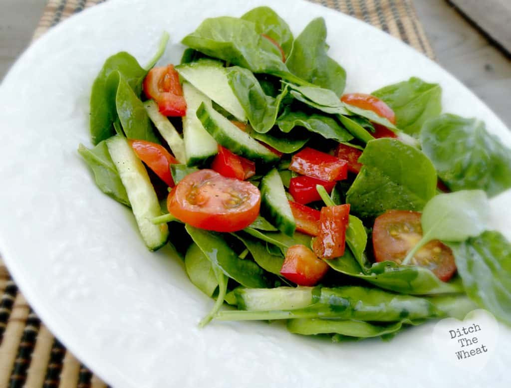 Simple Salad Dressing   Ditch The Wheat