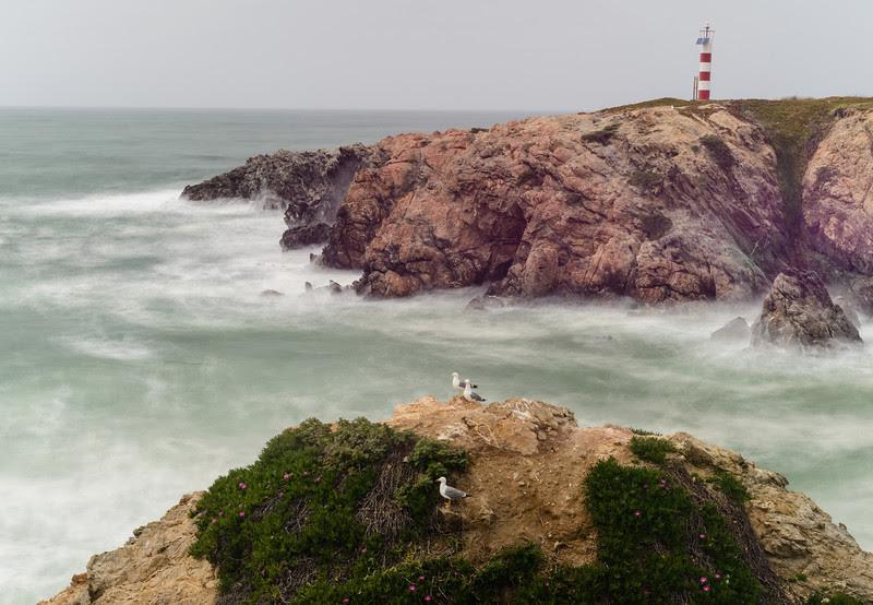 Wild coast at Porto Covo