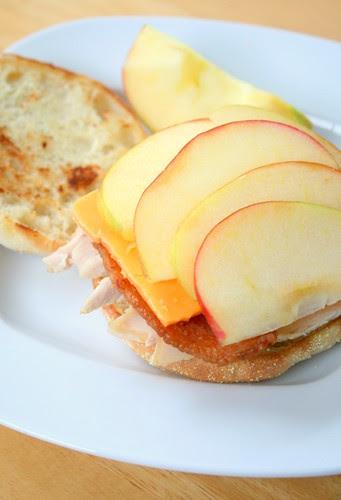 Afternoon Snack Turkey Sandwich
