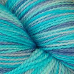Hoar Frost July yarn closeup