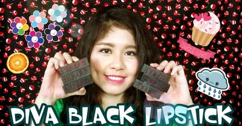 [SWATCH + REVIEW] BLACK ROUGE DIVA BLACK LIPSTICK - Tuyen Tekong + GIVE AWAY