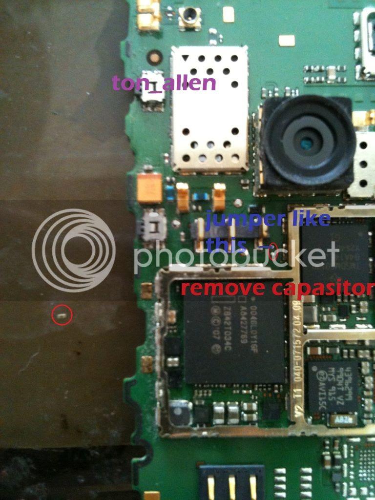 Nokia 6303c battery low then white screen
