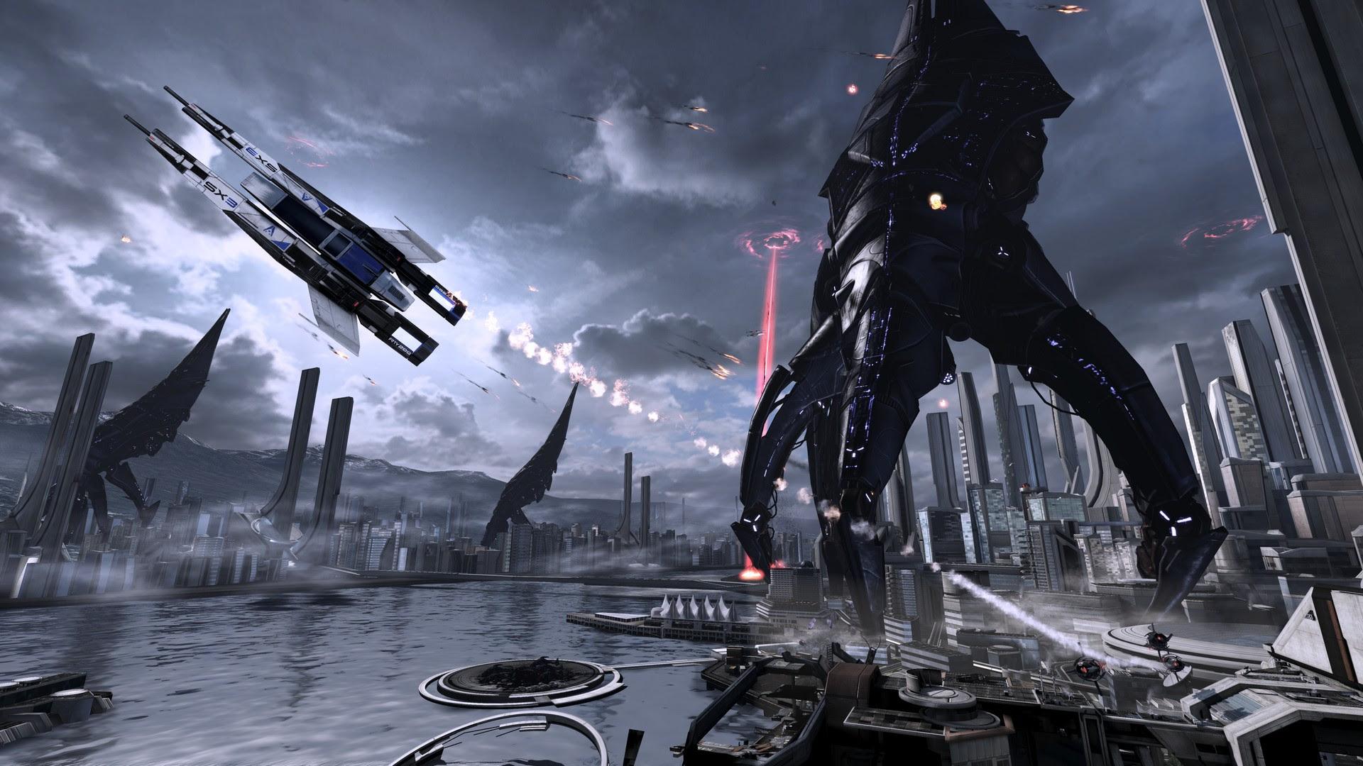 Mass Effect Reaper Wallpaper Sf Wallpaper