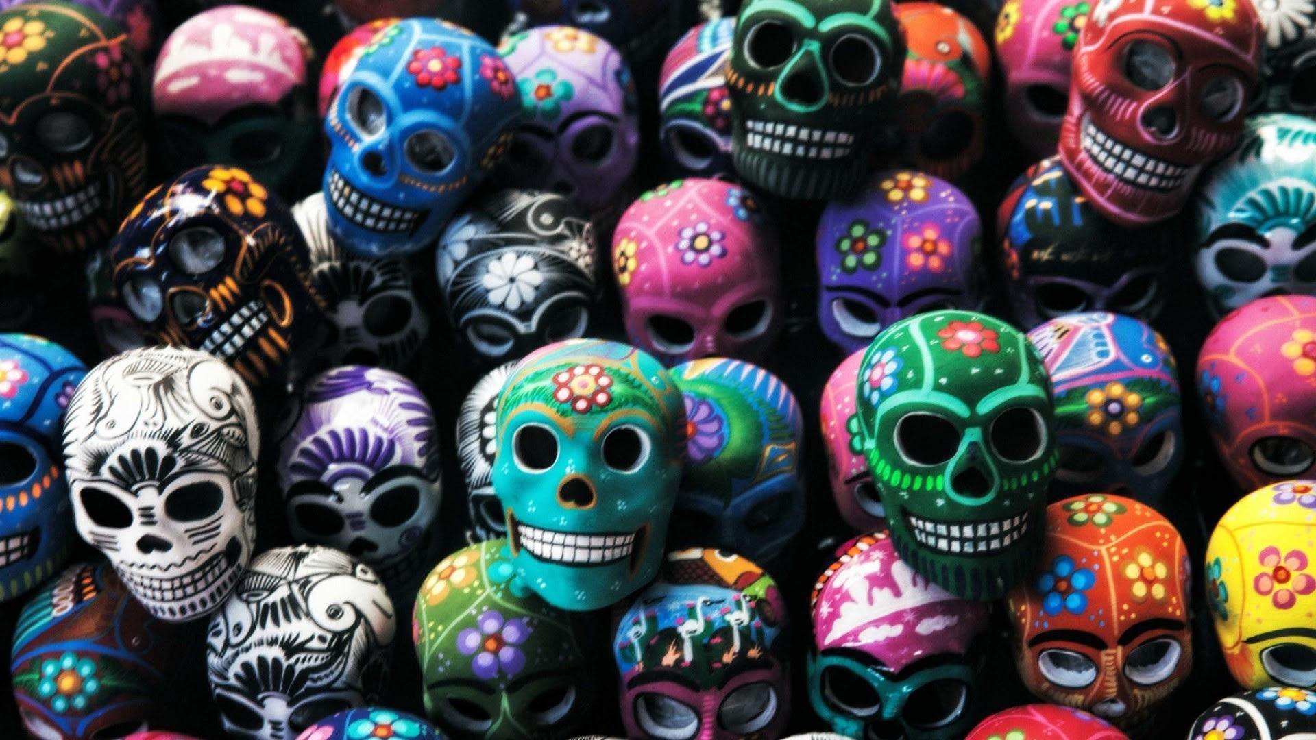 Sugar Skull Wallpaper For Home 69 Images