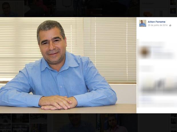 Vereador foi preso em flagrante na quinta-feira (18), segundo a Polícia Civil (Foto: Reprodução / Facebook)
