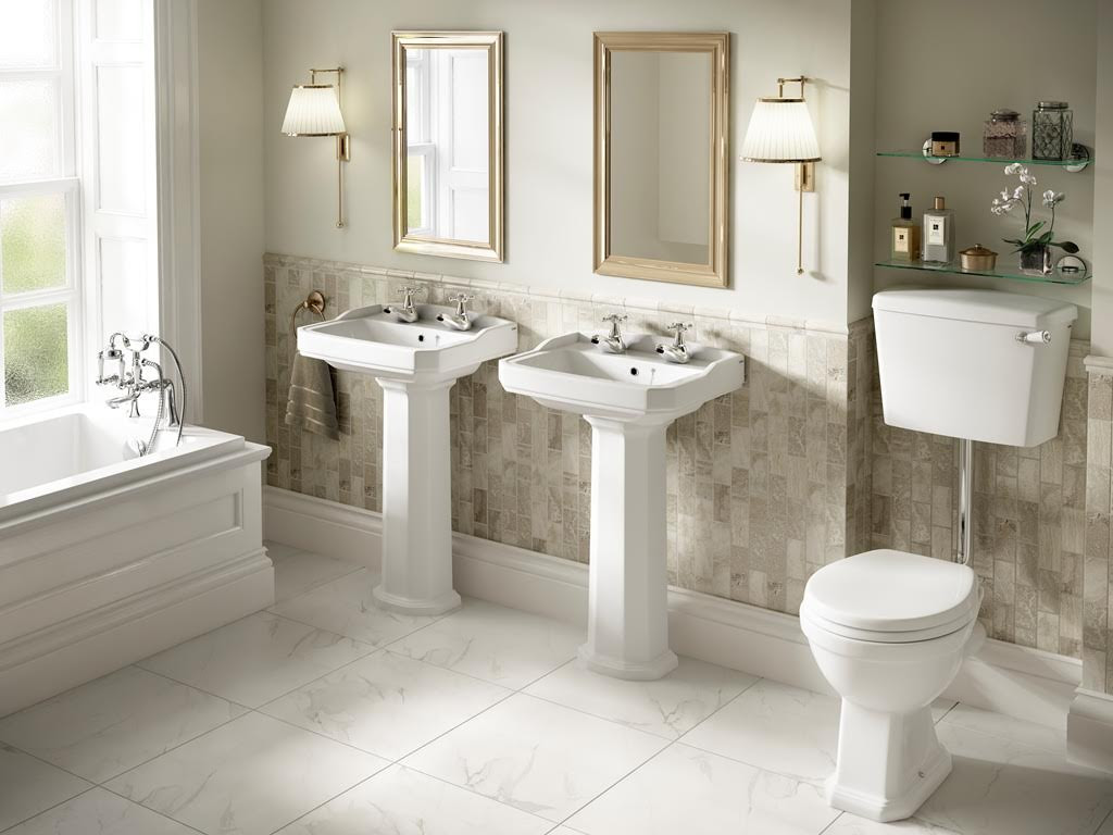 The Pure Bathroom Collection Introduce Bathrooms Inspired By Art Deco Uk Home Ideasuk Home Ideas