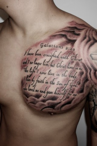 Tattoo Bible Quotes For Men Ellenslillehjorne