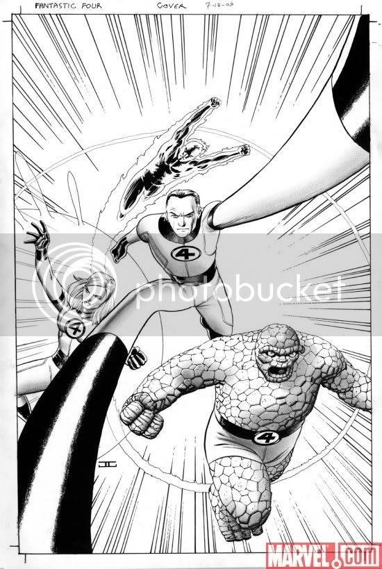 Cassaday em Fantastic Four
