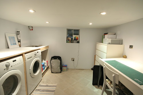 Laundry / Office - July 2011