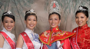 Jenna Lynn Kam, Miss Chinatown Hawaii 2009 and her royal court