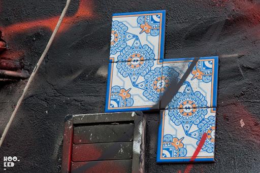 Diogo Machado's Azulejo Tiles in London